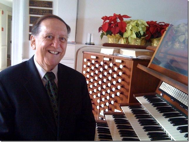 Jack W. Jones at the Royal Poinciana Chapel. (Photo by Greg Stepanich)