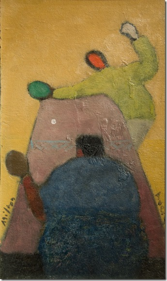 Ping Pong Players (c. 1944), by Milton Avery. (Photo by Katie Deits)