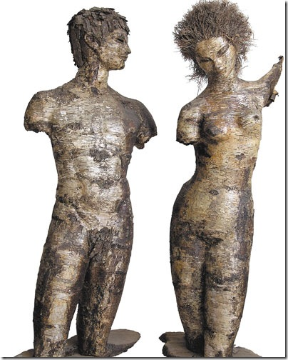 Adam and Eve, by Janine Janet.