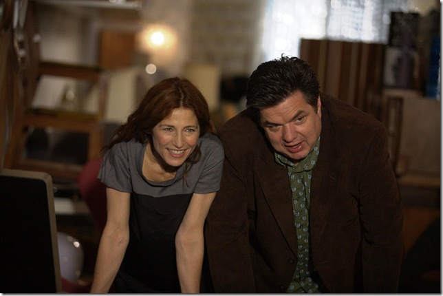 Catherine Keener and Oliver Platt in Please Give.