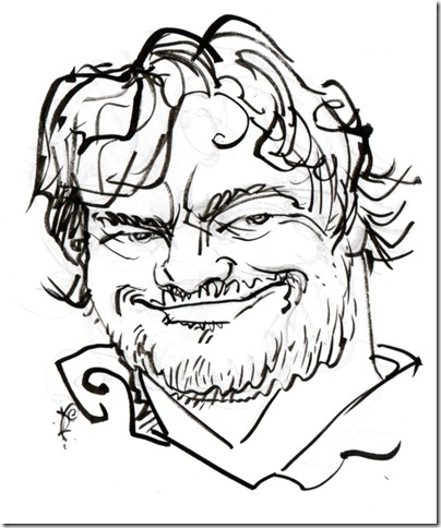 Jack Black. (Illustration by Pat Crowley)