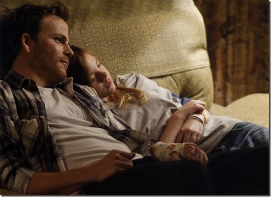 Stephen Dorff and Elle Fanning in Somewhere.
