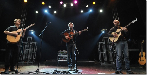 The California Guitar Trio played FAU's Jupiter campus Saturday night.