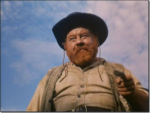 Burl Ives in Wind Across the Everglades (1958).