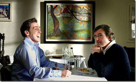 Rob Brydon and Steve Coogan in The Trip (2010).