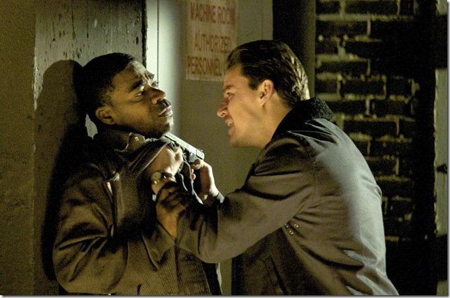 Tracy Morgan and Channing Tatum in The Son of No One.