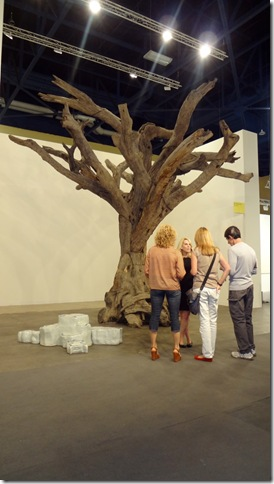 Tree No. 11 (2009-10), by Ai Weiwei. (Photo by Katie Deits)