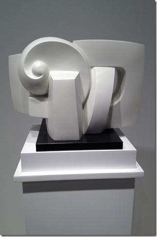 Galerie Piéce Unique of Paris, exhibited bronzes by Sophia Vari. (Photo by Elaine Meier)