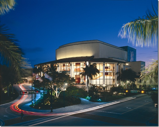 The Broward Center for the Performing Arts opened in 1991.