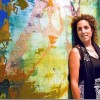 Artist Cervetti brings color, spirituality to her work