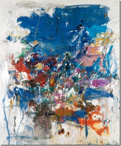 Untitled (1960), by Joan Mitchell.