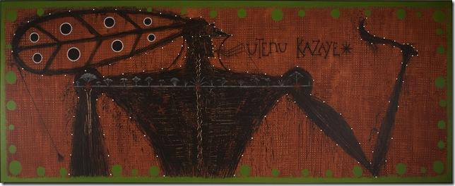 Utenu Kazaye (2007), by José Bedia.