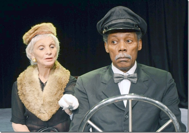 Harriett Oser and John Archie in Driving Miss Daisy.