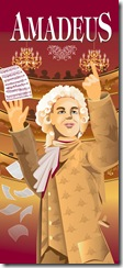The Maltz Jupiter Theatre's poster for Amadeus.