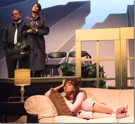 Keith Garsson, Patti Gardner and Jacqueline Laggy in Sylvia.