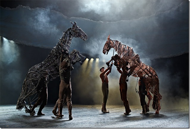 A scene from War Horse, coming to the Broward Center from May 7-19.