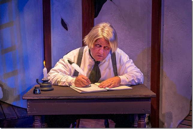 Ken Clement in The Diary of a Madman. (Photo by George Schiavone)