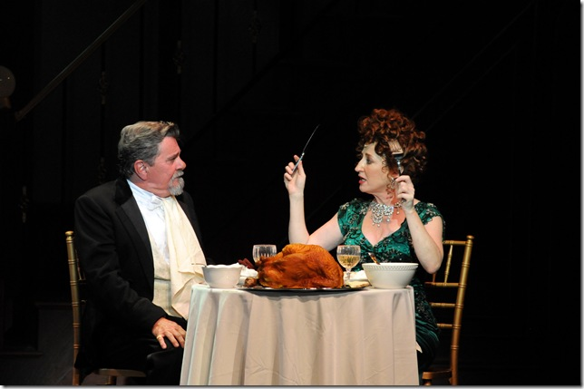Gary Beach and Vicki Lewis in Hello, Dolly! (Photo by Alicia Donelan)