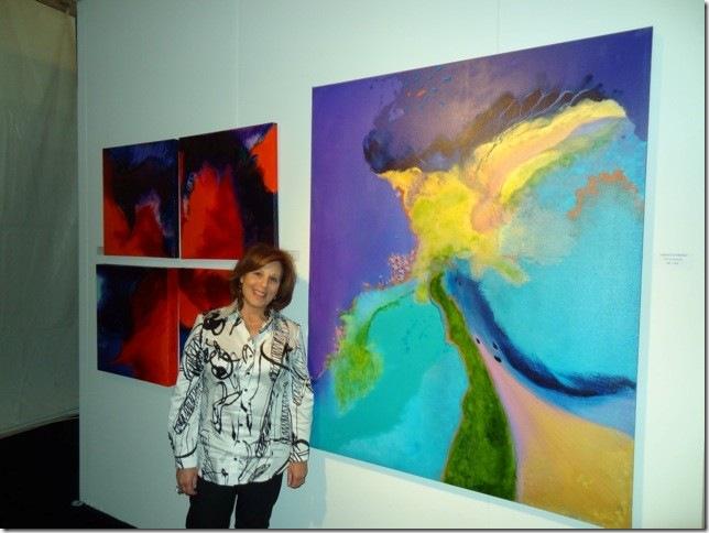 Rhona LK Schonwald, at Red Dot. (Photo by Katie Deits)