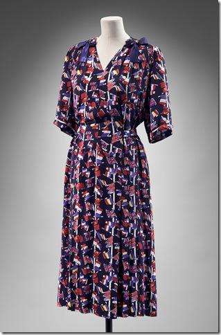 A victory print dress.