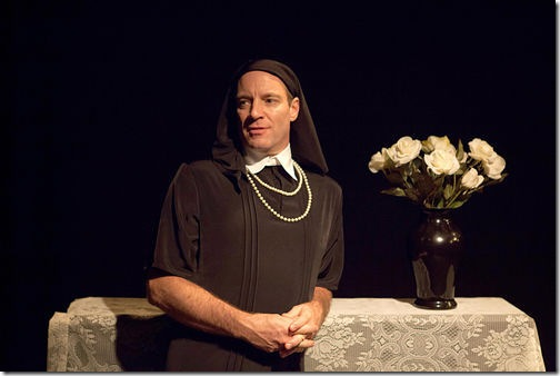 Tom Wahl in I Am My Own Wife. (photo by Justin Namon)