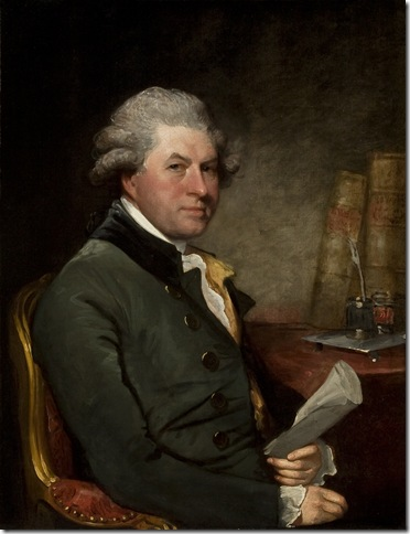 William Burton Conyngham (circa 1790), by Gilbert Stuart.