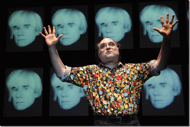 Josh Kornbluth in Andy Warhol: Good for the Jews?