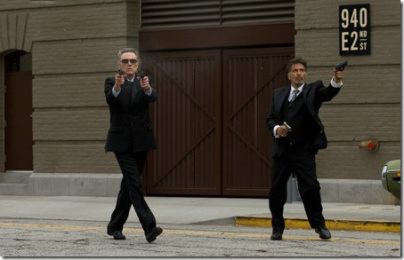 Christopher Walken and Al Pacino in Stand Up Guys.