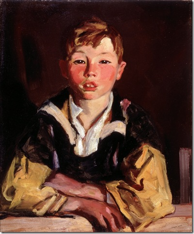 Portrait of a Boy (Sonny Mac) (1926), by Robert Henri.