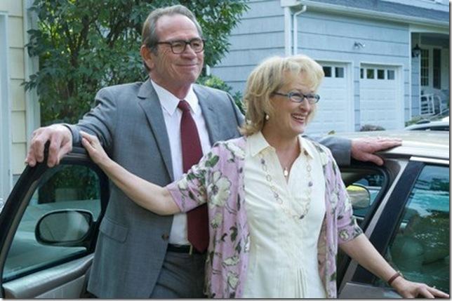 Tommy Lee Jones and Meryl Streep in Hope Springs.