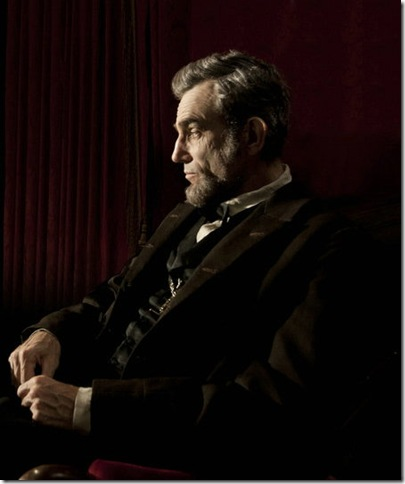 Daniel Day-Lewis in Lincoln.