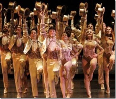 A scene from A Chorus Line.