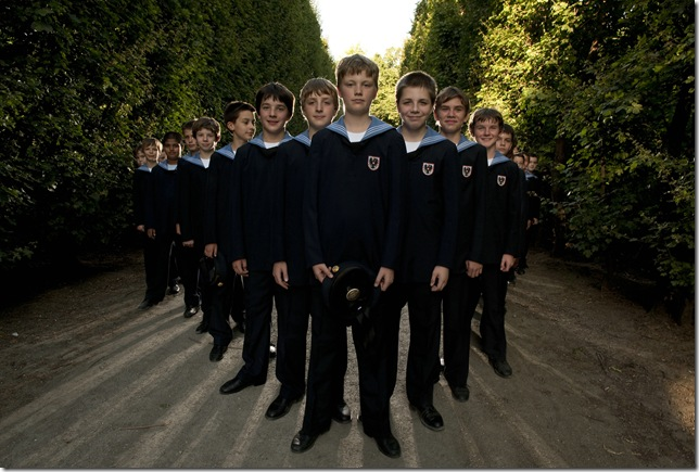 The Vienna Boys Choir. (Photo by Lukas Beck)