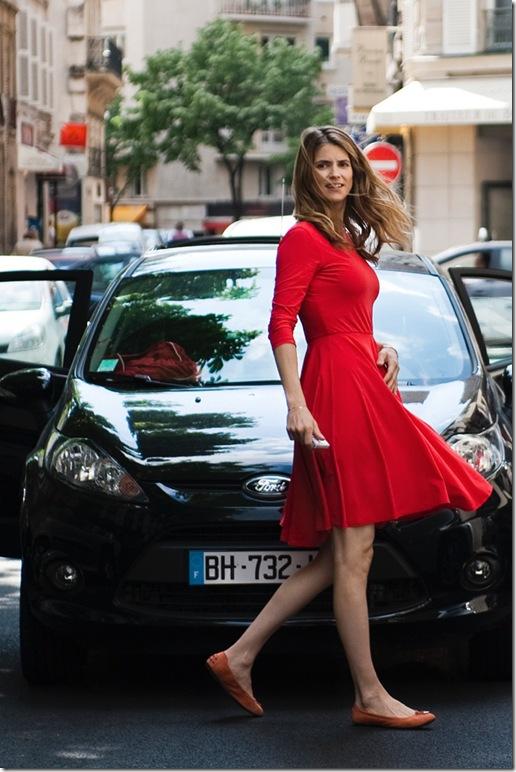 Alice Taglioni in Paris-Manhattan.