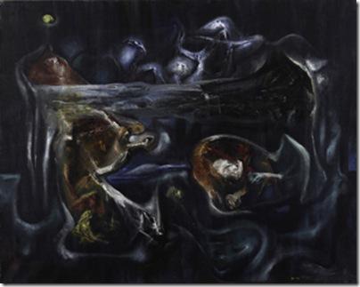 Crucificcion (1938), by Roberto Matta Echuarren.