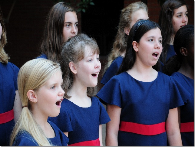 Members of the Phoenix Girls Chorus.