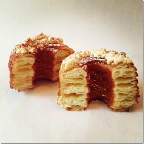 All hail the cronut! (Dominique Ansel Bakery, NYC)