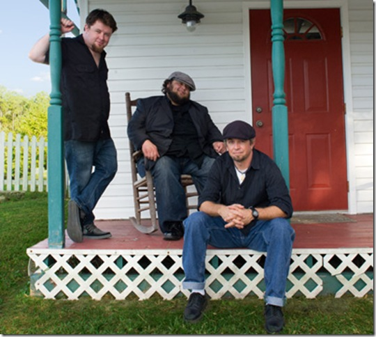 Southern Hospitality's three principals, from left: Damon Fowler, Victor Wainwright and J.P. Soars.