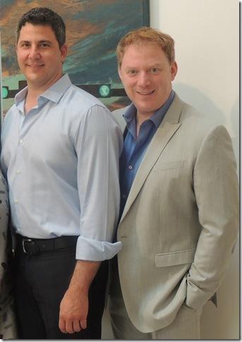 John Mercurio (left) and Andrew Kato.