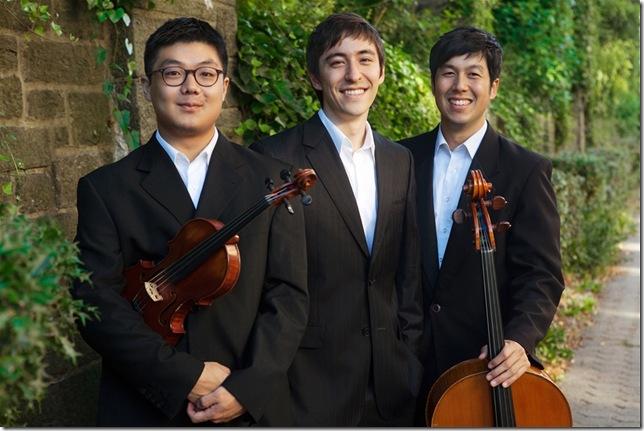 From left: Doori Na, Sean Kennard and Joseph Lee.