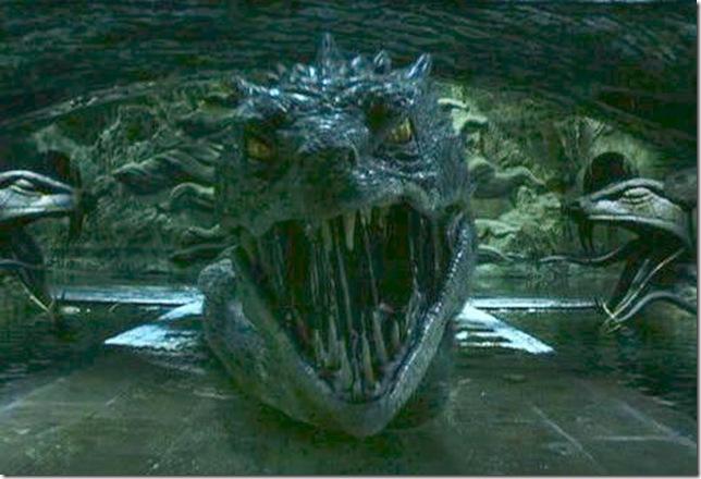 Basilisk monster harry potter