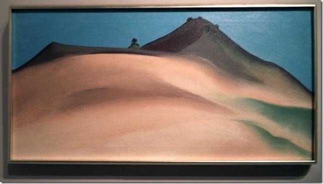 Toward Abiquiu, New Mexico (1930), by Georgia O'Keeffe.