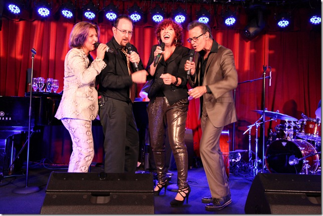 Manhattan Transfer at Jazziz Nightlife. (Photo courtesy Michael Fagien)