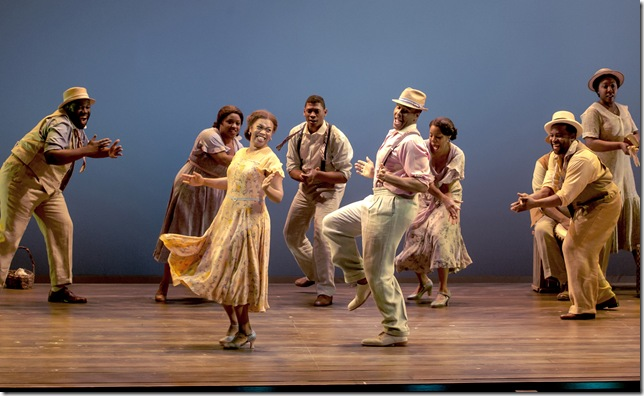 A scene from the national tour of Porgy and Bess.