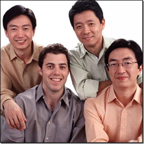 The Shanghai String Quartet.