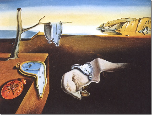 The Persistence of Memory (1931), by Salvador Dali.