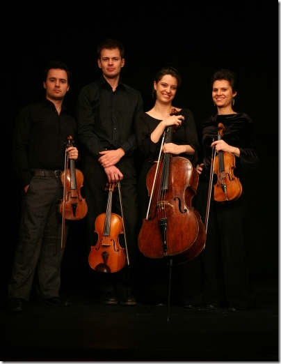 The Elias String Quartet. (Photo by David Shapiro)
