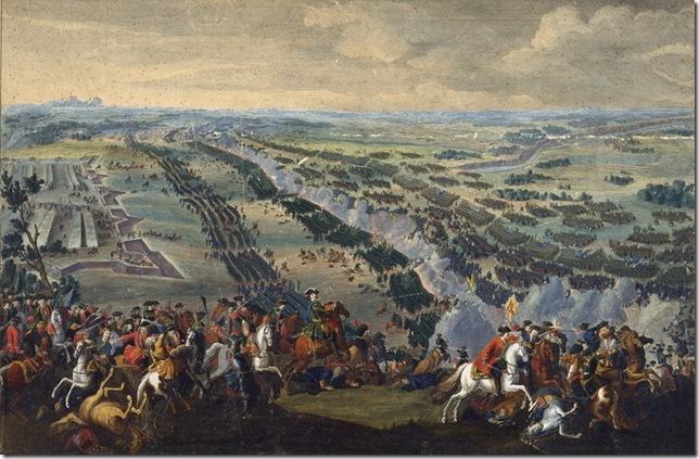 The Battle of Poltava (1726), by Denis Martens the Younger.