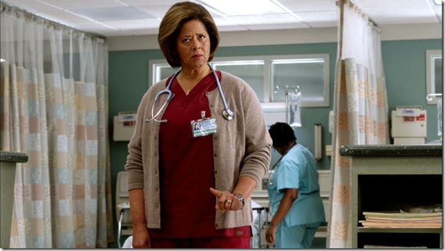 Anna Deveare Smith as Gloria Akalitus in Nurse Jackie.
