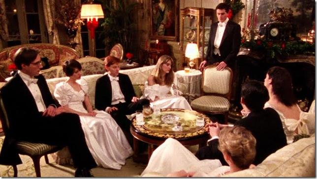 A scene from Metropolitan (1990).